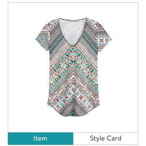 Fun comfy tee from Stitch Fix
